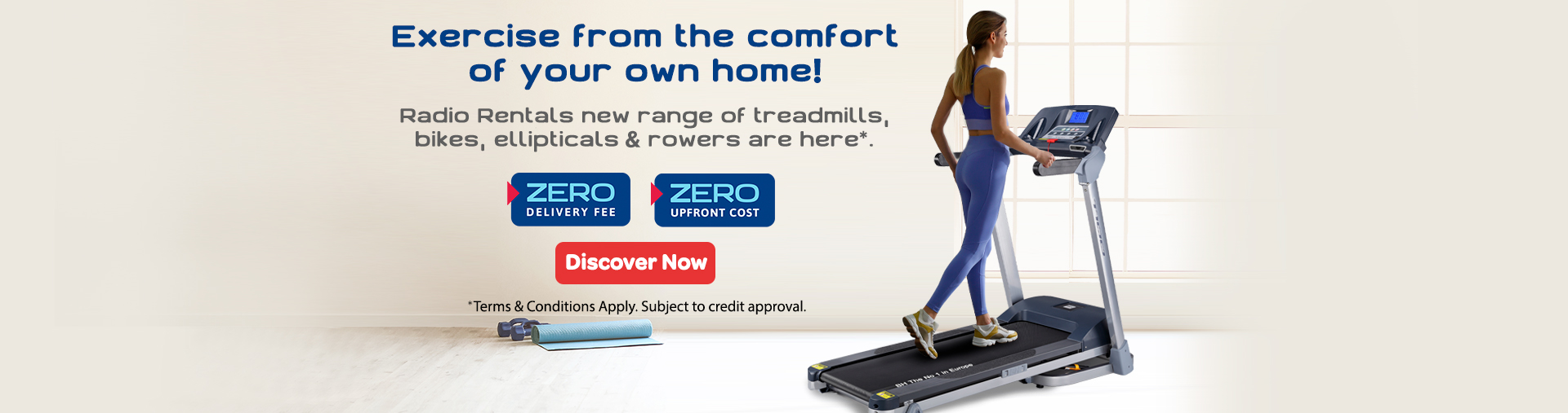 Exercise from the comfort of your own home!
