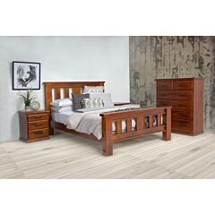 Albury 4-Piece Queen Bed Package Rental Lifestyle Image