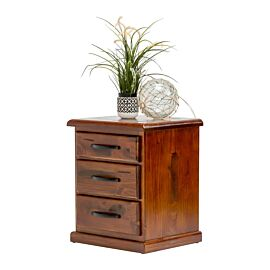 Albury Bedside Table Rental angled view - lifestyle image