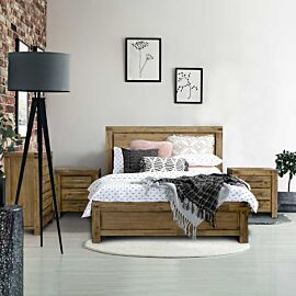 Emerson 4-Piece Queen Bed Package Rental Lifestyle image