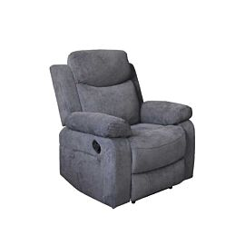 Nikson Single Seater Recliner Charcoal