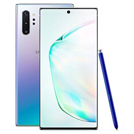 Samsung Galaxy Note10+ 256GB Aura Glow Rental - Front and Back
