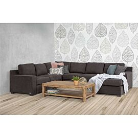 Shaw 6 Seater Modular with Sofa Bed Lounge Rental Lifestyle Image