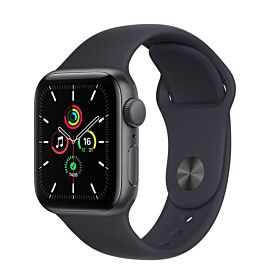 Apple Watch SE GPS 44mm Space Grey Aluminium Case with Midnight Sport Band